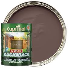 Cuprinol 5 Year Ducksback Matt Shed Fence Treatment Forest Oak 5l Wickes Co Uk
