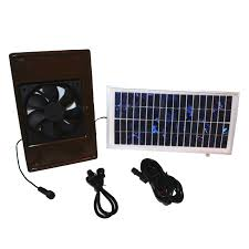 solar powered exhaust fan for dog house