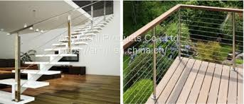 2017 Modern Design Easy Install Tension Wire Stainless Steel Cable Railing For Stair Of Stainless Steel Cable Wire Railing Balustrade From China Suppliers 158794168