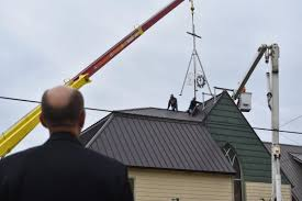 Church sanctuary crowned with first steeple in decades | Community |  tillamookheadlightherald.com