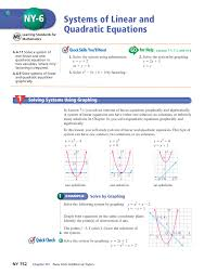 systems of linear and quadratic