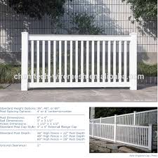 No Dig Permanent Nantucket Picket Vinyl Fence W Post And No Dig Steel Pipe Anchor Kit 4 High By 6 Wide Buy Cheap Vinyl Fence Plastic Picket Fence Picket Vinyl Fence Product On Alibaba Com