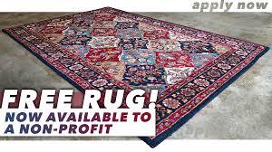 free area rug for non profit oriental