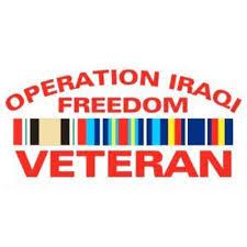 Operation Iraqi Freedom Veteran Car Decal Walmart Com Walmart Com
