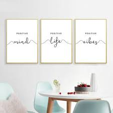 simple quotes canvas poster black white mini st wall art print