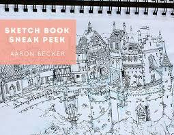 Sketchbook Sneak Peek: Aaron Becker – Design*Sponge