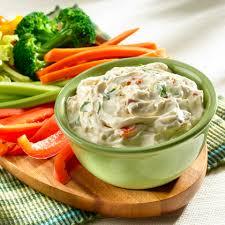 easy vegetable dip recipe myrecipes