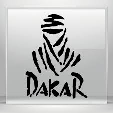 simple color vinyl paris dakar logo