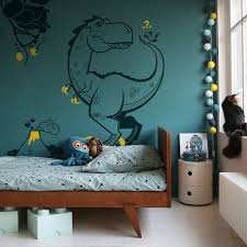 Dinosaur Wall Decals 4 Large Dinosaur Wall Stickers For Kids Room Tyrannosaur Pterodactyl Jurassic World Theme In 2020 Kid Room Decor Boys Wall Stickers Kids Wall Decals