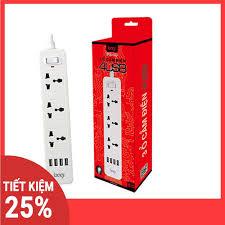 ĐÁNH GIÁ] Ổ Cắm Điện Đa Năng 3 Ổ Điện 4 Cổng USB, giá rẻ 179,000đ! Xem đánh  giá ...