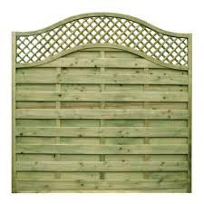 Neris Modern Fence Panel Eastern Fencing Timber Supplies Ltd