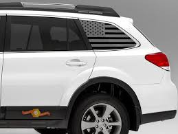 Product Subaru Outback American Flag Decals Stickers Vinyl Accessories Subie 09 18