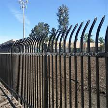 China Low Price High Quality Wrought Iron Gate Design Fence Gate Metal Fence Gate China Fence Steel Fence