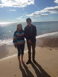 Liliana Hamilton and brother at the beach in Watch Hill, Rhode Island – The  Jetstream Journal