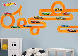Hot Wheels Cars Track Wall Decal Set 2