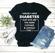 diabetes gift tshirt men women