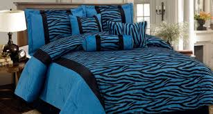 25 cool black and blue comforter sets
