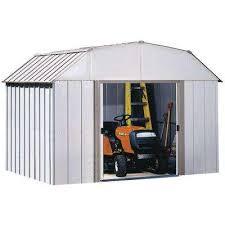 arrow double door metal sheds