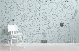 chemistry wallpaper cute doodle
