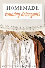 5 homemade laundry detergents the