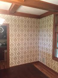 residential wallpaper installation