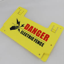10pcs Electric Fence Warning Signs Danger High Voltage Security Satety Sign Warning Board Of Power Grid Fencing Trellis Gates Aliexpress