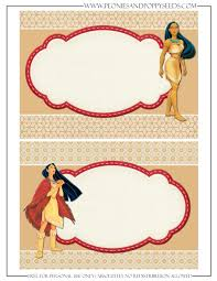 Invitacion Pocahontas Pocahontas Princesas Disney Invitaciones