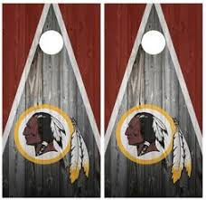 Washington Redskins Decals For Cornhole Boards Redskinshome