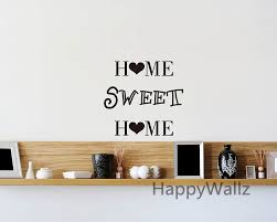 home sweet home family quote wall sticker decorating diy family
