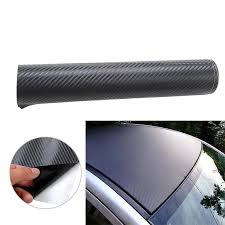 12 X50 30cmx127cm 3d Carbon Fiber Film Wrap Vinyl Decal Rear Window Car Sticker Decoration Car Styling Dropshipping Car Stickers Aliexpress