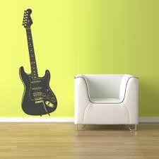 Wall Decal Vinyl Decal Sticker Decals Guitar Music Z1524 Stickersforlife