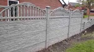 Image Result For Concrete Panel Fence Fancy Fence Fence Panels Concrete Decor