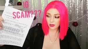 puma makeup artist photoshoot scam my