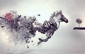 grey wallpaper zebra creative style