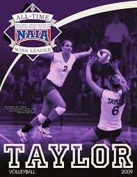 2009 Taylor University Volleyball Media Guide by Taylor University  Athletics - issuu