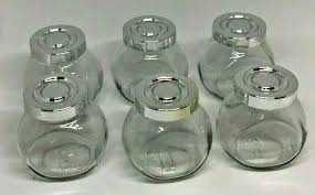 ikea spice herb jars lids small