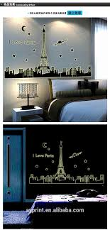 Abq9602 Paris Wall Decal Home Living Room Eiffel Tower Night Glow Sticker View Night Glow Sticker Ayyy Product Details From Zhejiang Shenao Technology Co Ltd On Alibaba Com
