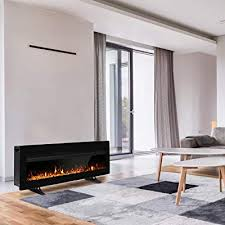 40 inches electric fireplace insert