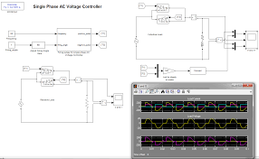 single phase ac vole controller