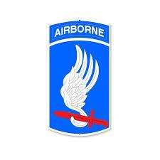 173rd Airborne Brigade Sign Sign Art Airborne Division Sign