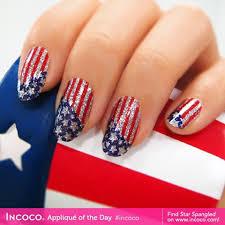 incoco star spangled nail wraps shefinds