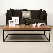 rectangular coffee table by temahome
