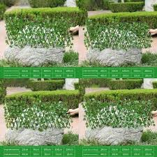 Quality Artificial Ivy Maple Leaf Willow Trellis Expandable Hedge Screening 1x2m 36 99 Picclick Uk
