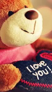 lovely teddy wallpaper for iphone5