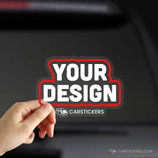 Custom Clear Stickers Made With High Quality Vinyl Material