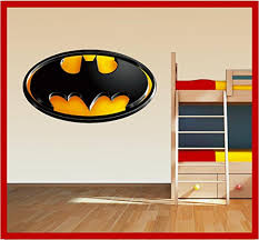 Batman Logo Badge Shield Wall Art Printed Vinyl Sticker Decal Large 300 X 545mm Buy Online In Cambodia Solo Signs Uk Products In Cambodia See Prices Reviews And Free Delivery Over 27 000 Desertcart