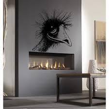 Shop Animal Ostrich Camel Bird Zoo Wall Art Sticker Decal Overstock 11760153