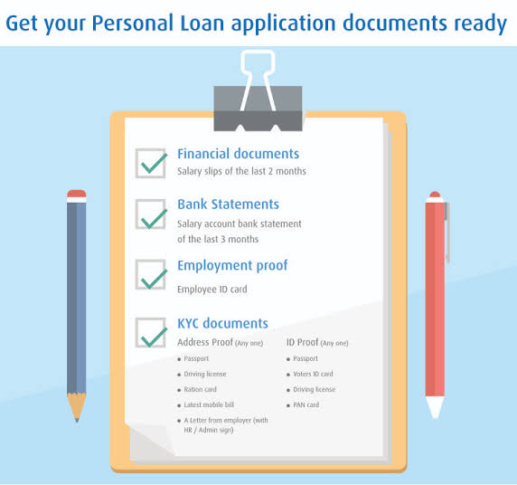 Image result for What Are the Documents Required For a Bajaj Finserv Personal Loan?""
