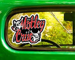 2 Motley Crue Decal Bogo Stickers For Car Truck Window Bumper Rv Laptop