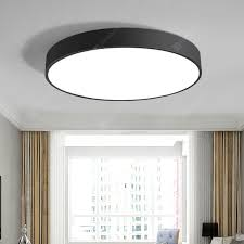 nordic led ceiling lamp bedroom round